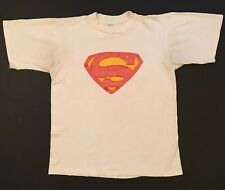 New listing Vintage 60s Superman T Shirt 100% Cotton Arizona Textile Co Medium Pop Culture