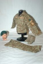 1/6 custom US 5th Special Forces Group Tiger Stripe uniform beret boots Lot