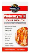 Garden of Life Wobenzym N, 200 tabs (Packaging May Vary)