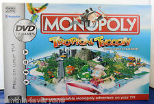 MONOPOLY TROPICAL TYCOON DVD FAMILY BOARD GAME PARKER HASBRO 2007   EX++ COND