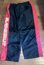 Wicked Biscuit Ice / Roller Hockey Pants Junior Size Large Black/Red