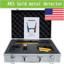 AKS 3D Professional Gold Metal Detector depth 14m long range handhold