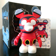 "DISNEY VINYLMATION 3"" PARK SERIES 4 DCL SMOKESTACK CRUISE LINE TOY FIGURE w/CARD"