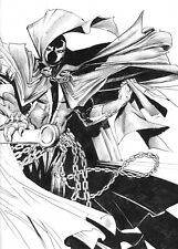 Spawn Comic Book Ink Drawing Illustration Art - ACEO Print 1 of 10