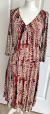 Ladies Rocha John Rocha 60s Inspired Shift Tunic Dress Autumn Winter Casual Comf