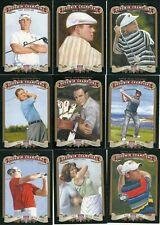 17 Card 2012 Goodwin Golf Set Payne A Palmer DJ Nat Gulbis Couples G Woodland RC