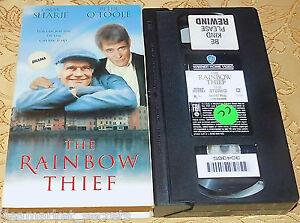 Rainbow Thief, The VHS Omar Sharif, Peter O'Toole IN ORIGINAL CASE OOP RARE L@@K
