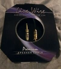 Livewire Premium 14Awg Speaker Cable 1/4 in. to 1/4 in. 10 ft. Black 8.5mm