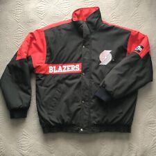 Vintage Logo 7 Portland Trailblazers Jacket Blazers Basketball FallWinter Jacket