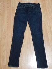 True Religion Dark Wash Distressed Super Stretch Skinny Jeans size 27
