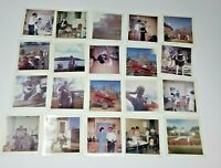Vintage 70s 20 PHOTOS LOT cars tractor lake home goods  different angles 053