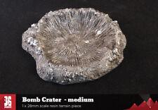 Medium Bomb Crater - 28mm scale resin terrain piece