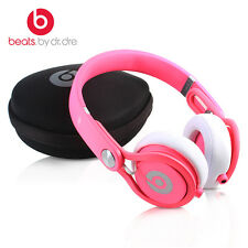 Genuine Beats by Dr. Dre Mixr Neon PINK DJ Swivel Headphones