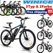 Elektrofahrrad Mountainbike ebike 27,5/26 Zoll E-Bike 250W Motor Shimano Pedelec