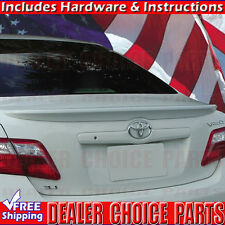 For 2007 2008 2009 2010 2011 Toyota CAMRY Factory Style Spoiler wing Lip PRIMER