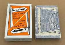 More details for tax wrapped - waddington's kennings advertising playing cards #1 - free postage