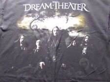 DREAM THEATER BLACK CLOUDS & SILVER LININGS SHIRT RARE GROUP SHOT NEW XL SHIRT