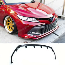 """Front Lip """"Consul S"""" for Toyota Camry 2018 (VX 70) (XLE)"""