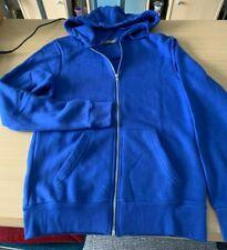 mens small zip up blue hoodie by Primark