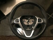 FORD FIESTA STEERING WHEEL FULL LEATHER CRUISE CONTROL GENUINE 2009-2012