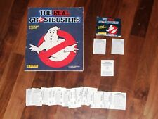 The Real Ghostbusters 1988 Complete Panini Sticker album, packet & with a Twist…