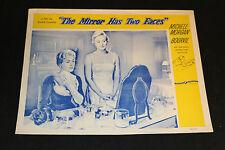 1958 The Mirror Has Two Faces Lobby Card Ivan Desny Sylvie (C-6)