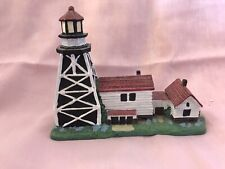 Lighthouse Spoontiques Whitefish Point Light Michigan Figurine #9097 Very Rare