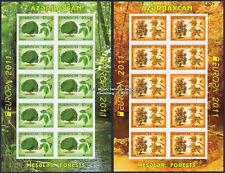 Aserbaidschan ungezähnt, Azerbaijan imperforated, Europa CEPT 2011, Kleinbogen**