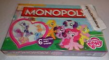 My Little Pony Monoply Game includes 6 collectible Pony Tokens