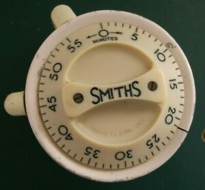 Smiths Kitchen Timer bakelite dial circa 1950 vintage working order