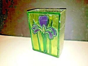 Rectangular Decorative Glass Vase
