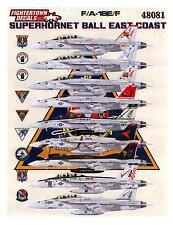 Fightertown Decals 1/48 F/A-18E/F HORNET SUPER HORNET BALL EAST COAST