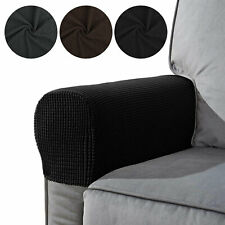 2Pcs Armrest Covers Stretch Set Chair Sofa Arm Protectors Couch Cover Removable
