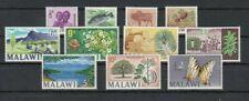 MALAWI, 1966 Einheimische Motive 41-51 **, (27622)