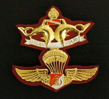 Indonesia Defence Force Navy Diver Commando Paratrooper Special Forces Badge TNI