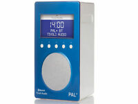 Tivoli Audio PAL+ BT DAB+/FM PORTABLE RADIO WITH BLUETOOTH - BLUE - Brand New