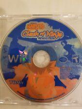 Naruto: Clash of Ninja Revolution (Nintendo Wii, 2007) - DISC ONLY FREE SHIPPING