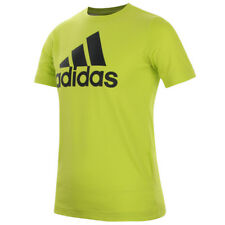 adidas Kid's Essentials Logo T-Shirt - 7-8 Years - Green - New