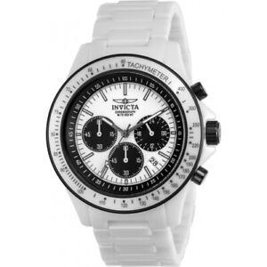Invicta 23839 45mm S1 Rally Overdrive Quartz Chronograph Ceramic Men's Watch