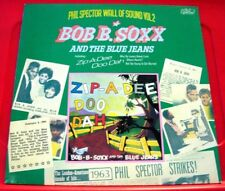 Bob B.Soxx And The Blue Jeans Zip-A-Dee Doo Dah LP UK RI 1975 Phil Spector VINYL