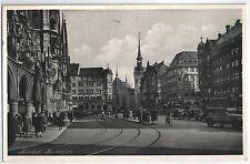 München, Marienplatz, von München nach Wien, 11.06.1938