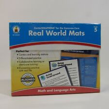 Real World Mats Grade 5 Math and Language Arts New Common Core