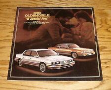 Original 1985 Oldsmobile Cutlass Supreme Ciera Cruiser Sales Brochure 85