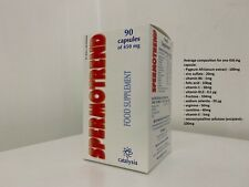 Spermotrend 90 Capsules - Food supplement based on plant extracts, antioxidants