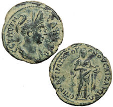 Bronze provincial AE17 of Sabina, wife of Hadrian, from Aezanis in Phrygia.