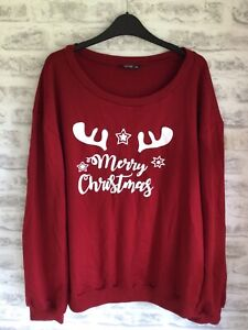 Ladies Christmas Sweatshirt Size 3XL (20/22/24)