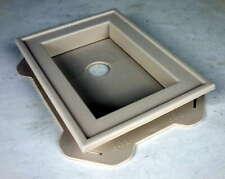 Mid America Split Mount Mini Vinyl Mounting Block Champagne 30401116 #7hy