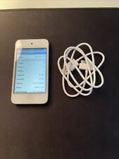 Apple iPod Touch 4th Generation 8Gb - White - A1367 Md057Ll/A - Great Condition!