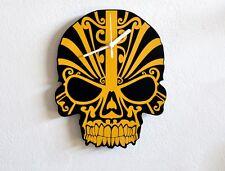 Yellow Skull Modern Design - Wall Clock