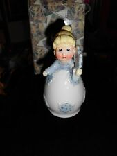 NEW*  FAIRY GODMOTHER; Ceramic Porcelain Fairy Godmother Decorative Bell